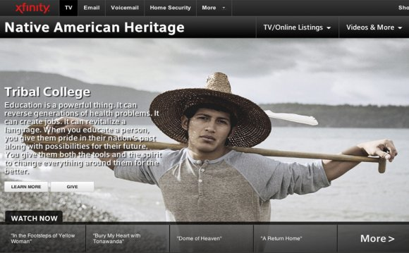 Comcast Celebrates Native