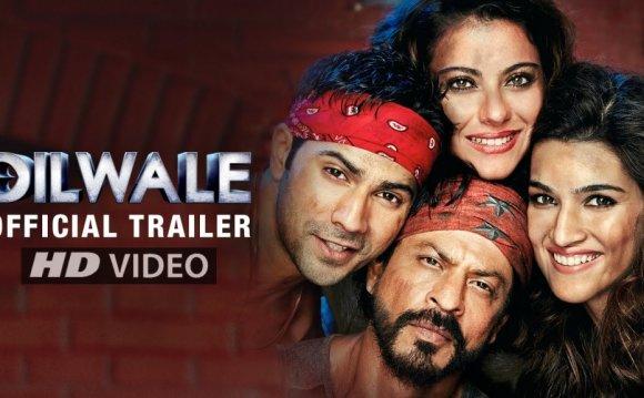 Dilwale Trailer | Kajol